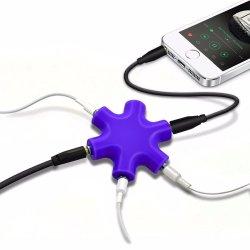 Разветвитель для наушников нейтрализатора Aux аудио кабель для iPhone iPod