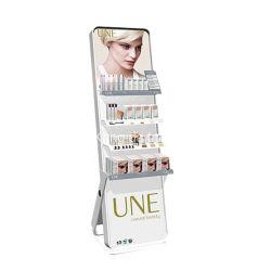 Attraktiver Entwurfs-hölzernes kosmetisches Verkaufsmöbel für Ausstellung-Schaukasten