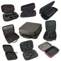 حمّاسة مخصصة لحمل Big Square Round Oval Zipper Travel أدوات مصنوعة من النايلون PU مقاومة للصدمات ومقاومة للماء من خلات فينيل الإيثيلين (EVA) حقيبة صغيرة لحقيبة حقائب خلات فينيل الإيثيلين (EVA)