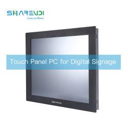 شاشة تعمل باللمس لكمبيوتر كمبيوتر شخصي متعدد الأحجام All-in One Panel التحكم الصناعي إنترنت الأشياء