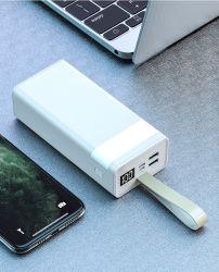 Fácil efectuar 50000Alta Capacidade mAh banco universal de alimentação carregador portátil com lanterna