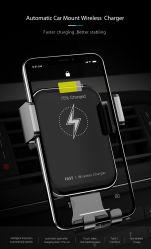 جهاز تركيب التهوية اللاسلكي السريع للشحن السريع للهواتف المحمولة