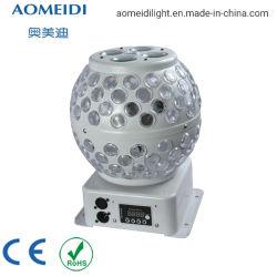 실내 8PCS 3W LED 경이로운 패턴 마술 공 디스코 KTV 빛