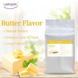 Polvere di sapore del burro del commestibile di alta qualità