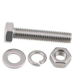 고품질 체결부품 하드웨어 등급 8.8 스테인리스 강 탄소강 DIN931 DIN933 육각 헤드 너트 및 볼트