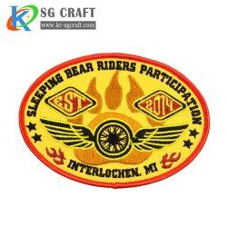 Seahawks de broderie personnalisée des patchs correctifs Sports brodé Patch Patches PVC correctifs personnalisés d'un insigne brassard