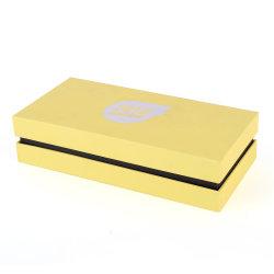 Plaza de la caja de regalo personalizado simple especialmente para el pañuelo con la ventana