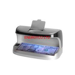 紫外線偽造の通貨の探知器の携帯用レジ係のお金の探知器