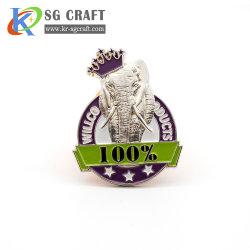 Cadeau promotionnel le métal des épinglettes de l'épinglette Quzhou fabricant de l'épinglette Ville Ventes en gros cadeau promotionnel une épinglette en émail doux