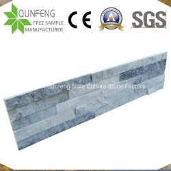 Китай Split перед лицом культуры камня стены оболочка серый Quartzite Ledgestone шпона
