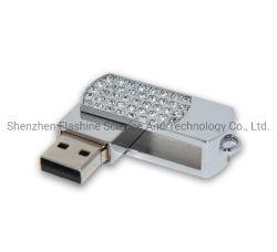 محرك معدني Plastic Swivel USB 2.0 3.0 USB للبيع في المصنع محرك أقراص محمول/محرك أقراص قلم/قرص USB محمول