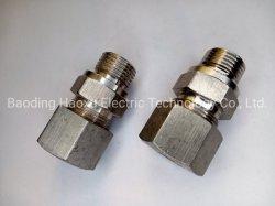 OEM NC & CNC Bearbeitung kundenspezifischer Schlauch Metallrohr SS304 316 Aderendhülse, Gerade Durchlaufendes Edelstahlgelenk