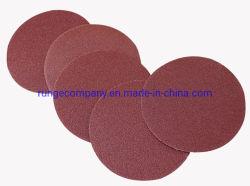 5-дюймовый крюк и обратной связью с зернистостью 280 Stearated оксида алюминия шлифовальный диск Velcro Premium электроэнергии инструменты