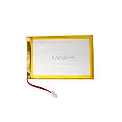 As gaiolas de bateria6066100 3.7V Dtp Poedeiras 5000mAh o Conector do Fio da Bateria