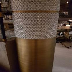 Custom высокого класса Sandblasted цвет нержавеющая сталь Роман колонки оболочка рулевой колонки