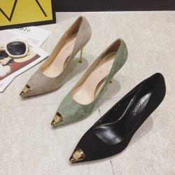 Dama de moda al por mayor zapatos de tacón Stiletto Casual Zapatos de Tacón Zapatos de Vestir Mujer