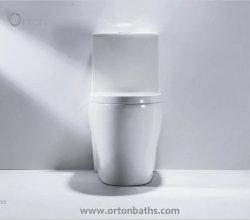 Ванная комната Siphonic санитарных продовольственный мебель фитинг из одного куска керамические Туалет Sanitaryware туалет с S Trap 300мм Consealed бункера чаша сиденья