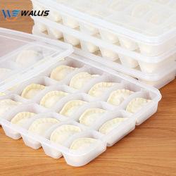 일회용 애완동물 PS PVC 플라스틱 급속 냉동 덤플링 박스 피크닉 음식 포장 탈취 박스 커버