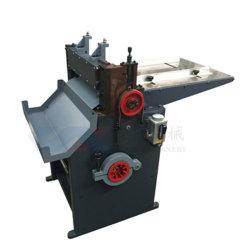 El cartón la máquina de corte longitudinal.