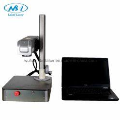 Indicatore portatile ad alta velocità della macchina della marcatura del laser di 8000mm/S 20W 30W mini di piastra metallica per la vendita