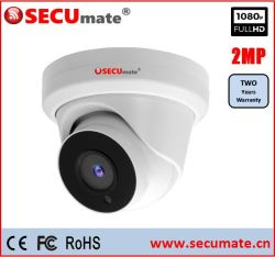 1080P 2MP tourelle coaxial analogique Dôme caméra de sécurité CCTV Ahd
