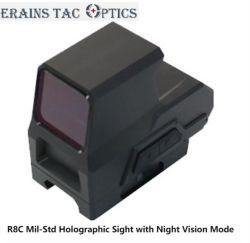 Tactical Mil-Std visão de noite Hologprahic Variável Vista Padrões Endoplasmático Red Dot Sight