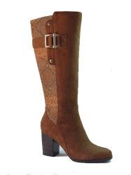 La última moda de invierno Knee-High Boots botas de mujer