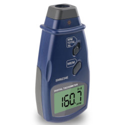 3 in 1 ポータブルフォトタコメータデジタルレーザー非接触光電子タコメータ RPM メーター