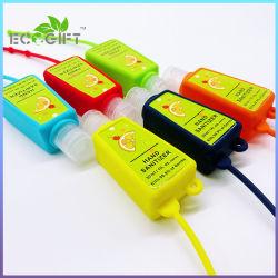 Mini personalizado mano higienizador30ml Gel de alcohol matan antibacteriano 99,99%.