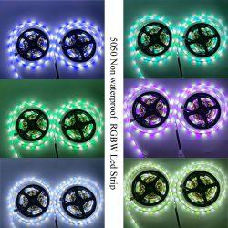 شريط LED بتقنية LED بتقنية Wi-Fi® ومقاوم للماء بطول 5 أمتار من شريط LED RGB شريط إضاءة مرن Lighting 5050 RGB 300 LED شريط