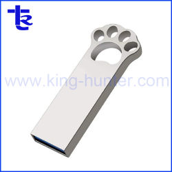 Logotipo personalizado Mini USB Stick USB Flash Metal Driveb Pendrive