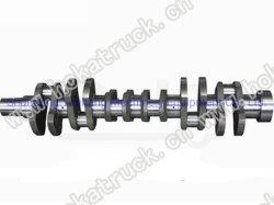 Albero a gomito d'acciaio forgiato durevole high-technology delle parti di motore del camion di Sinotruk HOWO (61560020029)