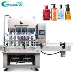 Champú automático de la botella de plástico cosmético Líquido Máquina de Llenado de agua potable