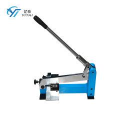Macchina per punzonatura manuale per righello in acciaio per stampi