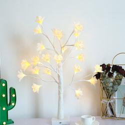 Световой индикатор дерева спальные комнаты расположение красочные Ins настольный светильник