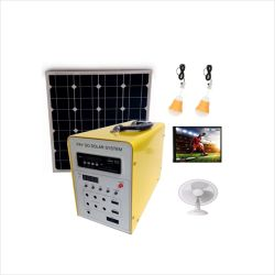 Отключение электроэнергии солнечной поверхности оплаты по факту использования солнечной энергии 4 комплект для домашнего освещения светодиодная лампа ТВ электровентилятора системы охлаждения двигателя