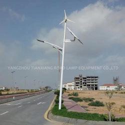 Illuminazione stradale ibrida a LED Wind Solar da 100 W, 120 W, 150 W con Miglior prezzo