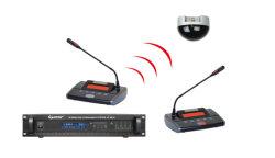 Voto di serie Ht-8510 & microfono senza fili d'inseguimento video del sistema di congresso di IR