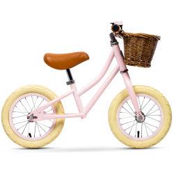 도매 싼 미니 카고 어린이 먼지 자전거 12인치 아기 아이용 좌석 아름다운 걸 핑크 밸런스 키즈 바이크
