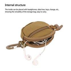 Saco de cintura tático saco de moedas militar Multifunctional para campismo no exterior Bolsa utilitária para bolsas
