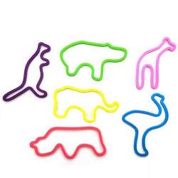 Nouvelle arrivée en silicone résistant bandeau multicolore Liens Scrunchies corde sèche Bandes élastiques de bande en caoutchouc