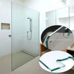 Le verre trempé de sécurité pour les matériaux de construction et la douche Panneau mural