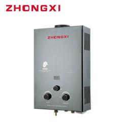 Faible pression d'eau chauffe-eau à gaz de combustion acier inoxydable de haute qualité