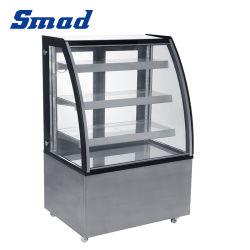 Smad modern Commercial Countertop koelkast Display Cake Showcase