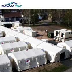 Cama de quarentena Desinfecção insuflável tenda para a tenda de abrigos de emergência médica e isolamento do Médico
