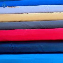 PU 100% poliéster 75D tejido con memoria imitada con WR PU Revestimiento para chaqueta