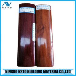 층계 방책을%s 실내 나무로 되는 PVC 손잡이지주