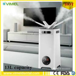 Marcação 13L desinfecção por ultra-som Atomizador Humidificador Ar Nebulizador Esterilizador para máquina de nevoeiro de esterilização atomizador