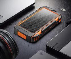 солнечная панель питания банк 20000 mAh солнечного зарядного устройства беспроводной портативный батарейный блок панели зарядного устройства 3 выходов водонепроницаемый внешнего резервного копирования