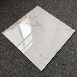 De super Witte Marmeren Prijs van de Fabriek van de Tegels van de Spiegel van het Porselein van Huaibei van de Muur van Carrara van Ceramiektegels Binnen